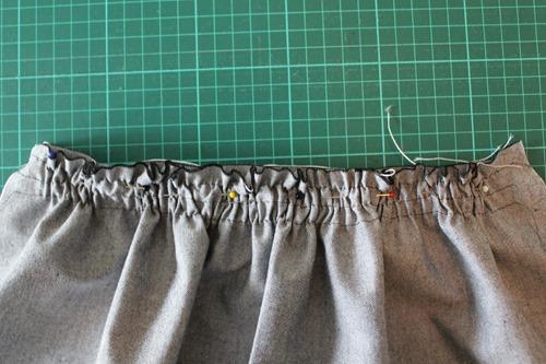 matching front waistband