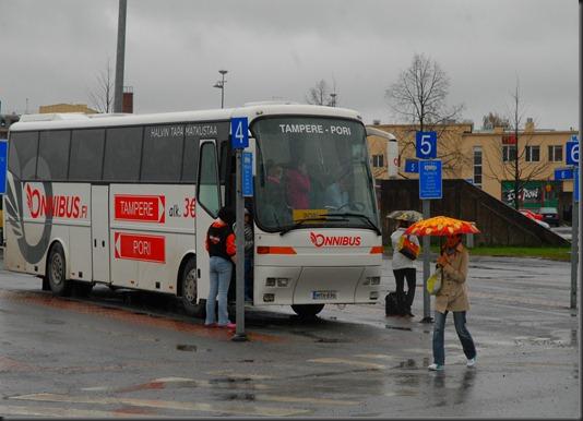 työ linja-auto  lippu 022