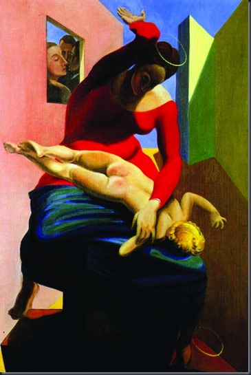 max-ernst-the-blessed-virgin-chastizes