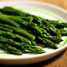 Simple Balsamic Asparagus