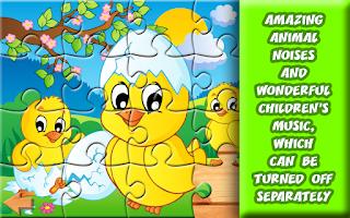Screenshot of 20 Barnyard Puzzles for Kids