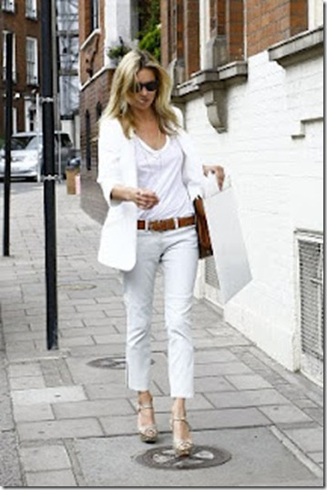 calça branca eu amo chanel