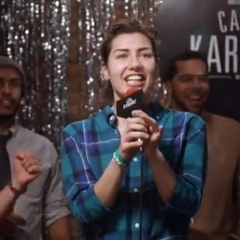 #CarolKaraoke  canta si quieres