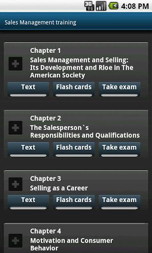 销售管理教育课程 - 为MBA准备的测试 闪存卡