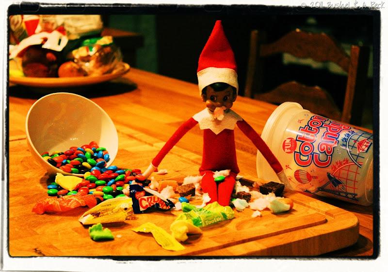 Buddy the Elf on a binge - large