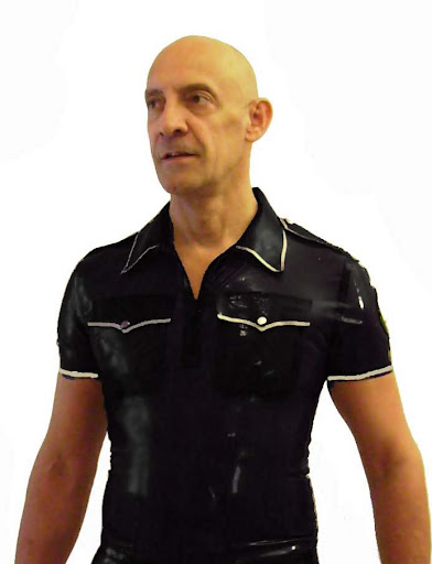 Tags: into latex rubber gay male shirt rubber clothing rubber gear latex ...