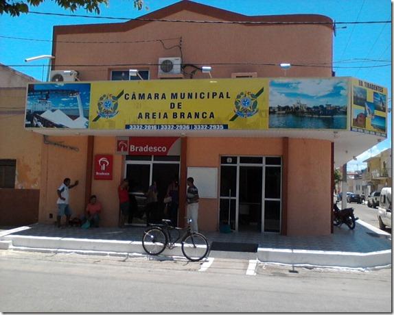 CÂMARA MUN ICIPAL AREIA BRANCA