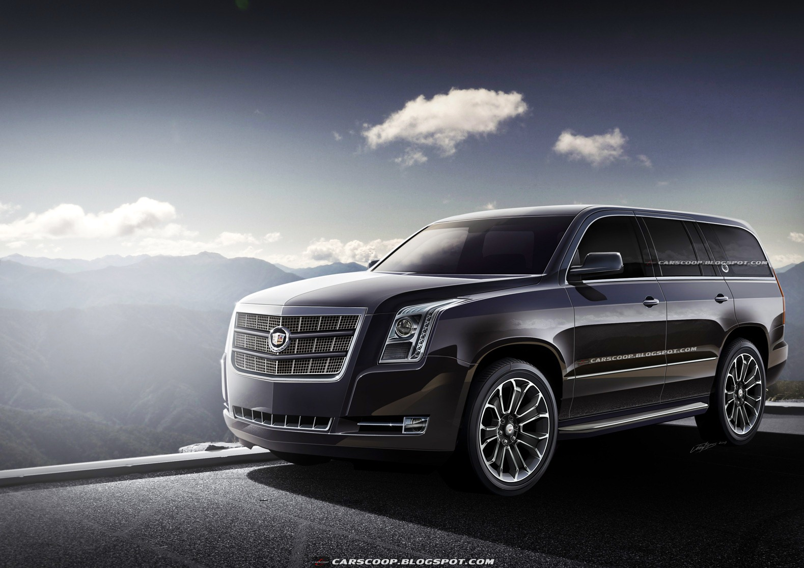 "Thread: Carscoop gets ""new intel"" on 2014 Escalade; renders it"