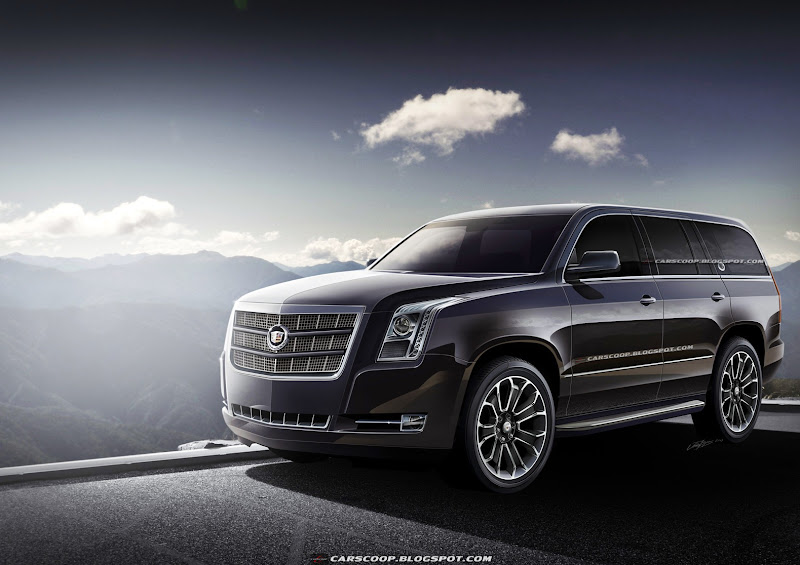 Future Cars GMs Upcoming 2014 Cadillac Escalade Luxury SUV