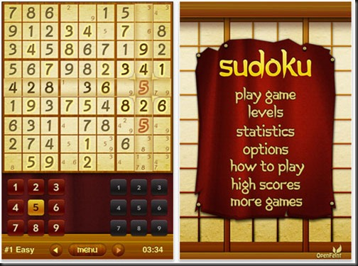 Take a journey to feudal Japan with Sudoku ✯. With beautiful graphics and killer features, this is the best Sudoku app available for iOS.