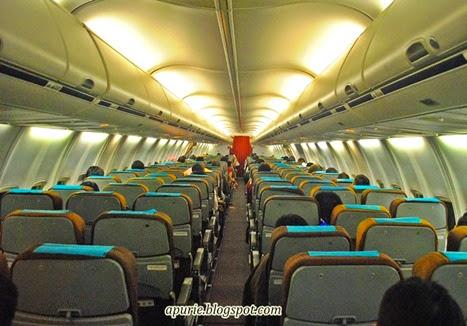 Inside B737-800