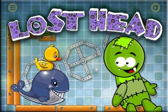 لعبة الرأس الضائع Lost Head ألغاز هندسية فزيائية ممتعة
