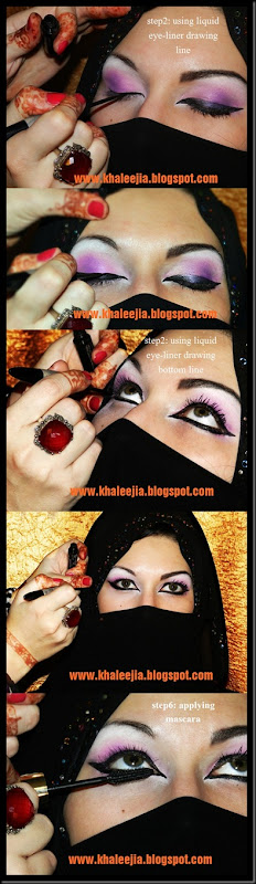 khaleeji makeup tutorial3