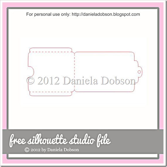 Gift card holder by Daniela Dobson