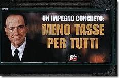 Manifesto ai tempi di 'Forza Italia'