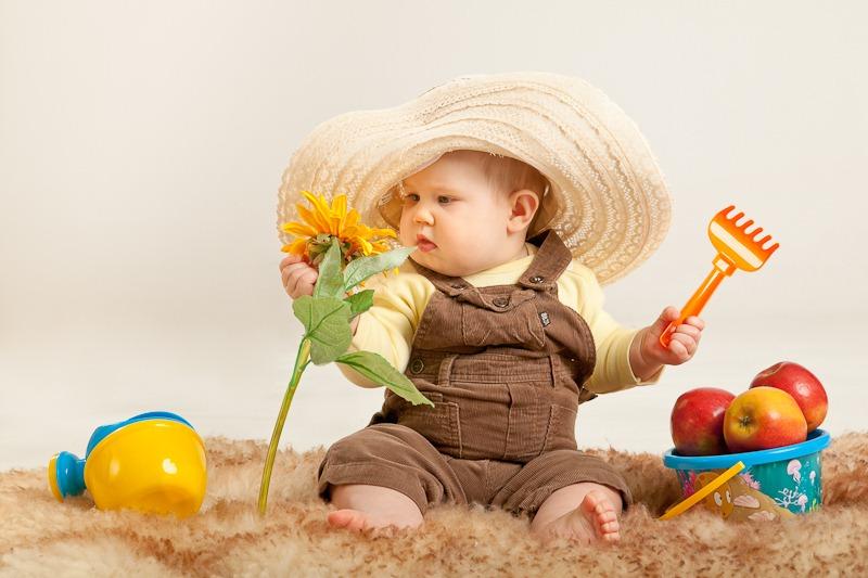 детская Фотосессия для календаря 4 сезонаv