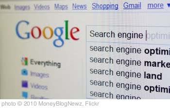 'Google Main Search' photo (c) 2010, MoneyBlogNewz - license: http://creativecommons.org/licenses/by/2.0/