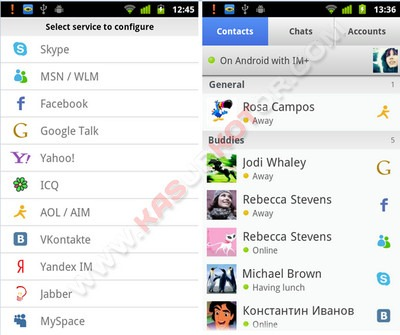 IM+: All-in-One Messenger for Windows Phone 7, iPhone, BlackBerry, Android