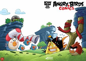 Actualización 13/02/2015: Angry Birds - Floyd Wayne y K0ala nos traen Angry Birds #08