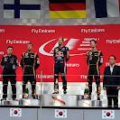Podium 2013 Korean GP<br /> 1 Vettel 2 Raikkonen 3 Grosjean