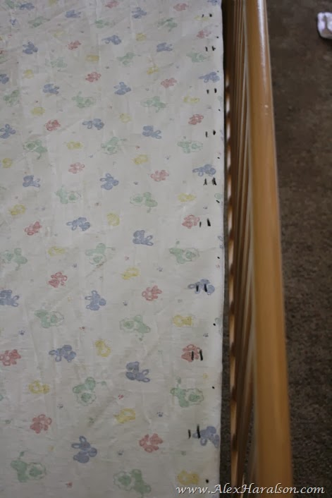 no sew tutu crib skirt12