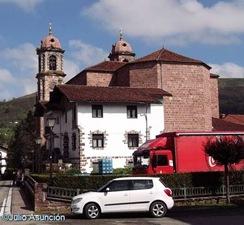 Iglesia  de Elizondo - Valle de Baztán - Navarra