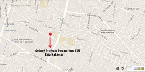 Peta Tempat Pelaksanaan