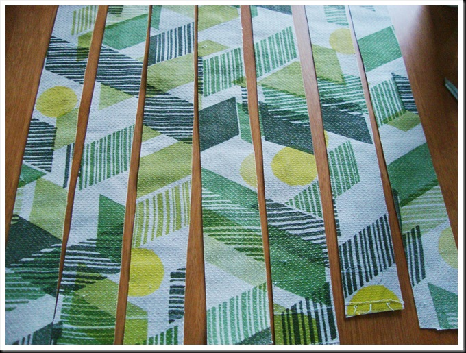 DIY fabric masking tape step by step