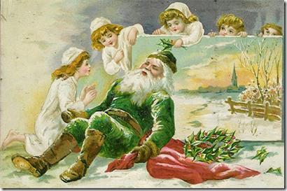 Pai Natal Verde