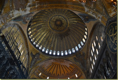 Istanbul St Sophia Dome View-1
