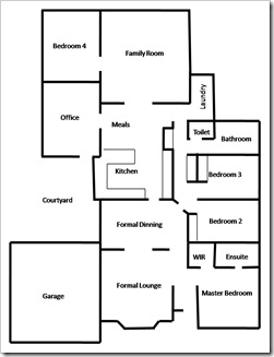 House Floor Plan 1
