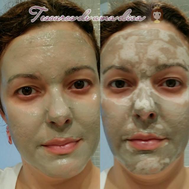 Máscara de argila Segredos de Camarim
