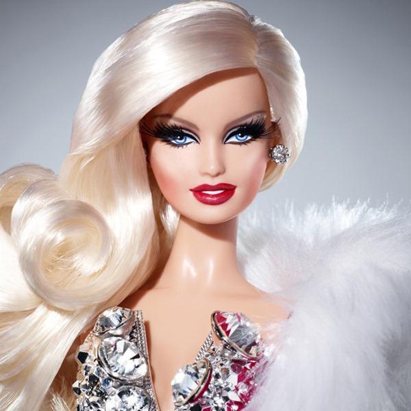 The Blonds Blond Diamond Barbie-Rosto