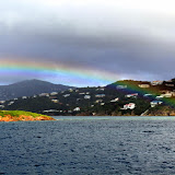 A Rainbow As A Shower Passes Through - St. Thomas, USVI