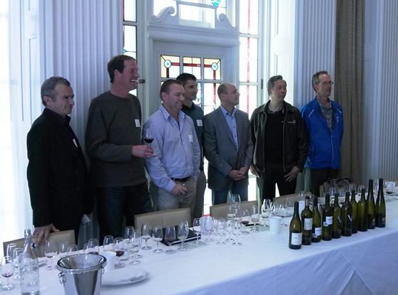Warwick, Robert, Andrew, Nathan, Michael, Howard, & Theo