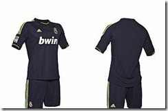 segunda camiseta Real Madrid