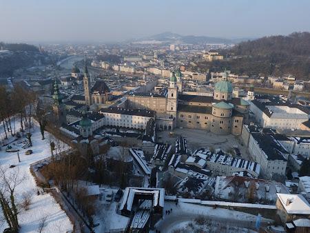Salzburg vazut de sus