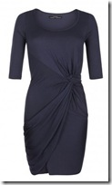 All Saints Blue Jersey Dress