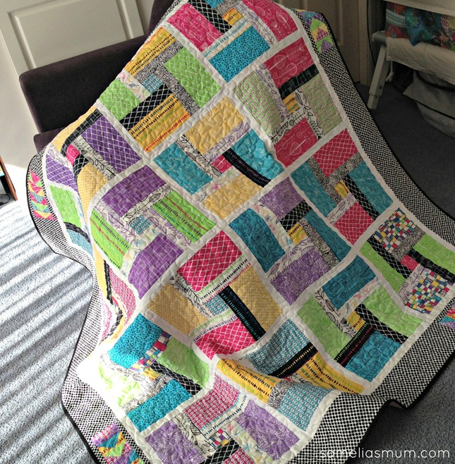 Best Friends Quilt - Inside