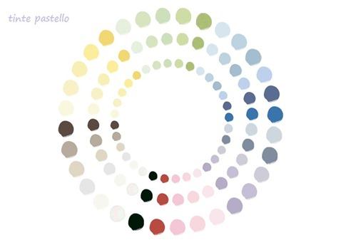 palette colori pastello