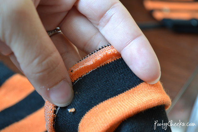 Baby Leg Warmer Sewing Tutorial