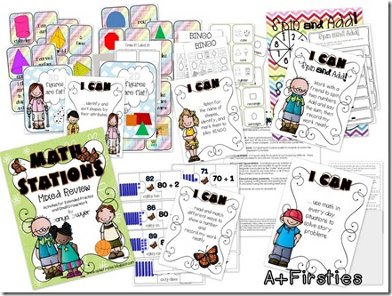 Math Stations Mixed Review-001