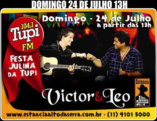 Victor e Léo na Estância Alto da Serra - Tupi FM