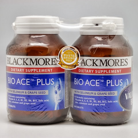 blacmores bio ACE plus dijamin halal