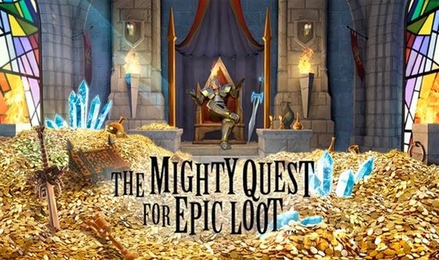 لعبة ملحمة السعى الملكى للنهب The Mighty Quest for epic loot