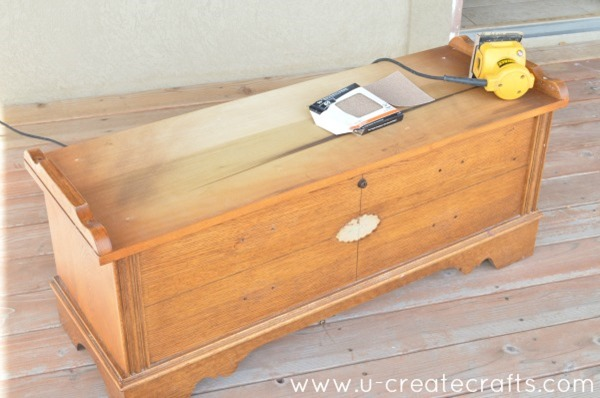 DIY Cedar Chest Makeover 3