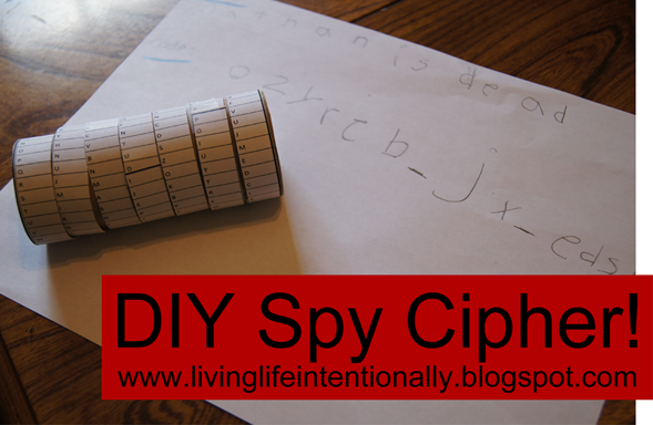 DIY Spy Cipher - American History Project for Kids