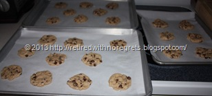 Simple Gluten-Free Chocolate Chip Cookies - ready for oven