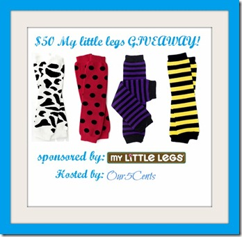 My little legs giveaway
