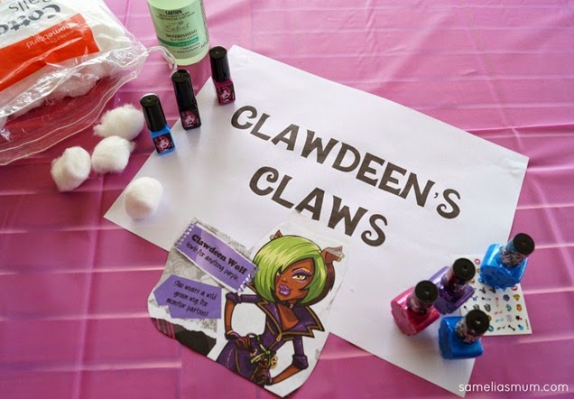 Monster High Party - Clawdeen